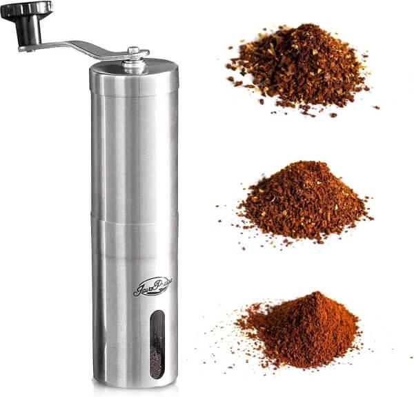 manual press coffee grinder