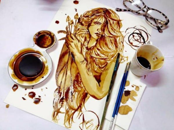 paint-anything-using-coffee