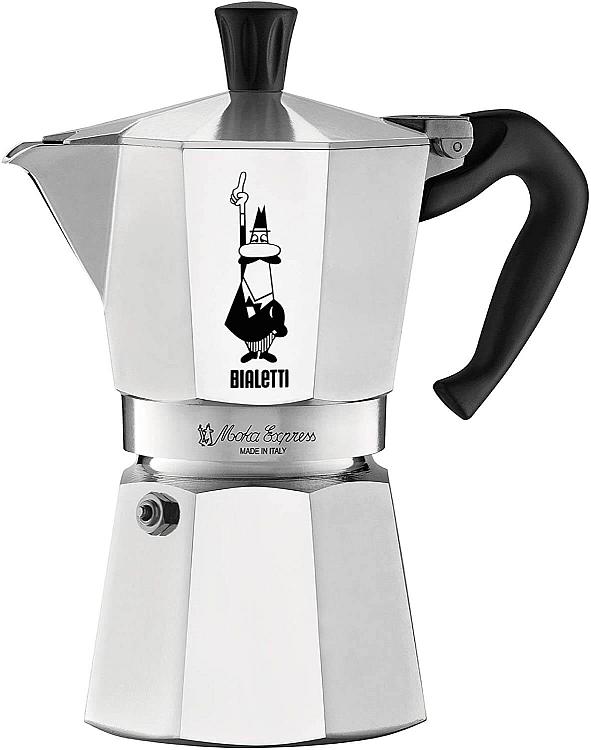Bialetti Moka Stovetop Espresso Coffee Maker>