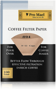 Pro Mael paper number four coffee filters