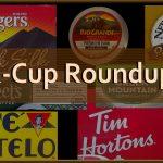 k cup roundup brands